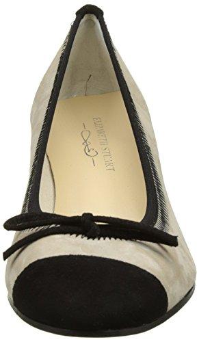 ELIZABETH STUART Dico, Escarpins Bout Fermé Femme Multicolore (noir/sable)