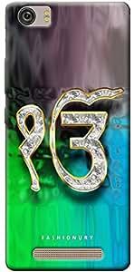 Fashionury Soft Back Case Cover For Gionee Marathon M5 lite- Print11000