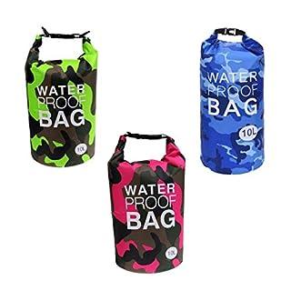 AiO-S - OK Drybag 10L Set Tasche 10 Liter Familienset wasserdicht Packsack Camouflage Water Proof