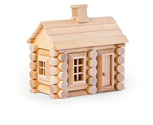 Natureich DIY Holzhaus 3D Puzzle Bausatz Holzspielzeug 55 – Teilig zur Förderung der Koordination, in Natur / Set ab 5 Jahre für die frühe Motorik Entwicklung & Ausbildung Ihres Kindes