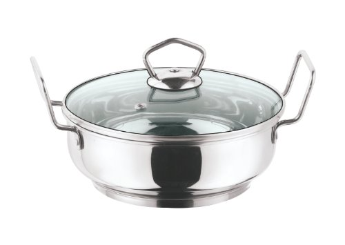 Vinod Cookware Induction friendly Kadai with Lid, 1.5 Litres  available at amazon for Rs.569