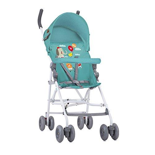Lorelli Light - Carrito de bebé, happy animals, color verde