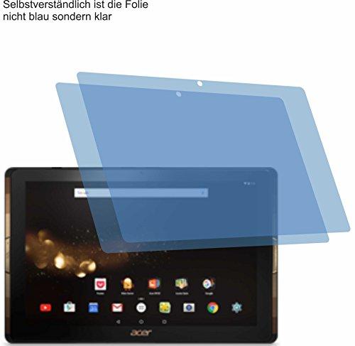 2x ANTIREFLEX matt Schutzfolie für Acer Iconia Tab 10 A3-A40 Displayschutzfolie Bildschirmschutzfolie Schutzhülle Displayschutz Displayfolie Folie