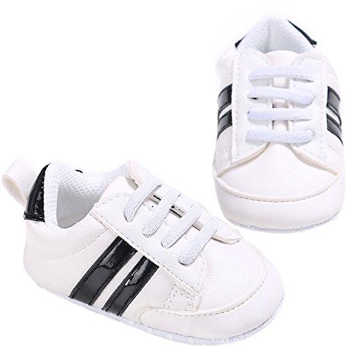 Fire Frog  Baby Fashion Sneaker, Baby Jungen Lauflernschuhe Schwarz