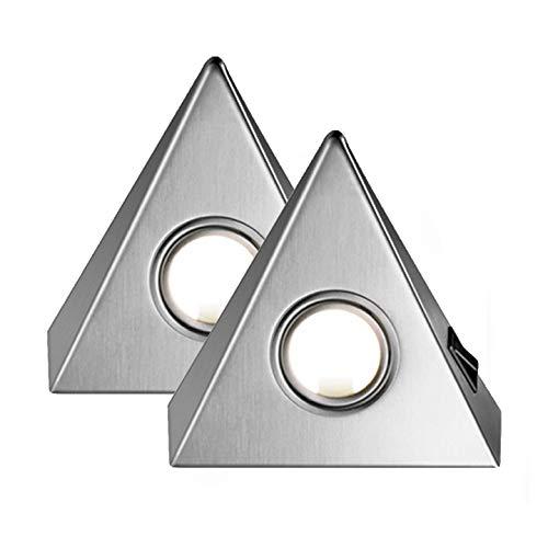 """Delta Maxi 2er Set LED edelstahl mit Zentralschalter \""""Made in Germany\"""" [55672082]"""