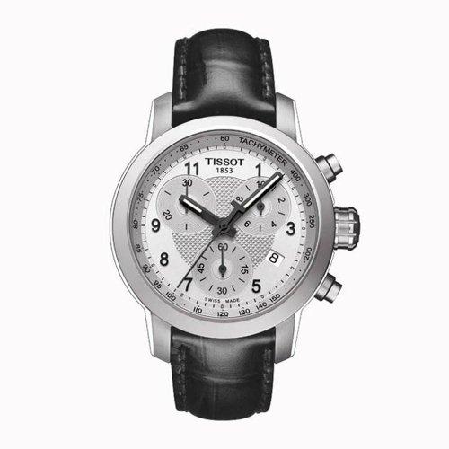 Tissot DamenArmbanduhr Chronograph Quarz Leder T055.217.16.032.02