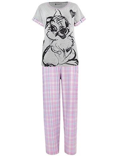 Disney Damen Klopfer Bambi Schlafanzug Large
