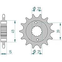 Gussrad Speichenrad 2002-2007 SM 2001-2008 SX 2005-2007 Ritzel 85200-15#428 mit 7mm Bohrung MZ Basic 125 2000-2008 RT
