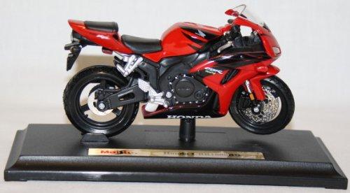 Preisvergleich Produktbild Honda Cbr1000rr Cbr1000 Rr Cbr 1000 1000rr Rot Schwarz Mit Sockel 1/18 Maisto Modellmotorrad Modell Motorrad
