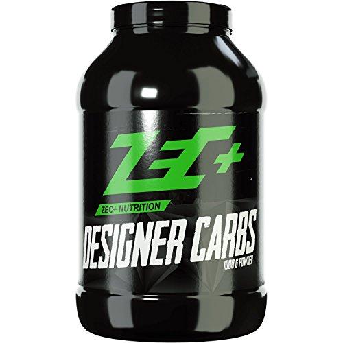 ZEC+ Designer Carbs - 1000 g Kohlenhydratpulver für Bodybuilding & Kraftsport, hochwertige Kohlenhydrate mit Cluster Dextrin & Maisstärke, Made in Germany