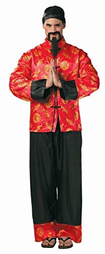 KOSTÜM - MANDARIN - Größe 52-54 (L) (Chinese Mandarin Kostüm)