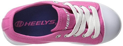 Heelys X2 Fresh, Chaussures 2 Roues Fille Fuchsia/Navy
