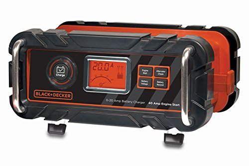 Black And Decker bc20bd - Caricabatterie 20 A + Starter 40 A