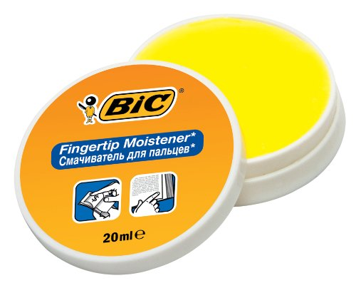 BIC Fingeranfeuchter BIC® Fingertip, 20 ml, weiß/orange