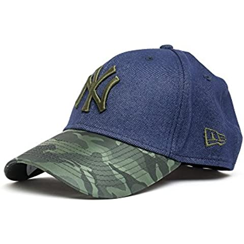 Gorra New Era – 39Thirty Mlb Nylon Camo Denim New York Yankees azul/verde