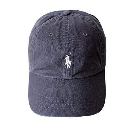 Ralph lauren - berretto da baseball, da uomo, taglia unica grigio taglia unica