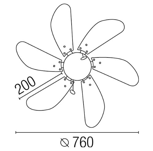 41jT5Rk1imL - Faro Barcelona Palao 33180 – Fan with Light, 40 W, Steel, MDF Blades and Opal Glass Diffuser, White