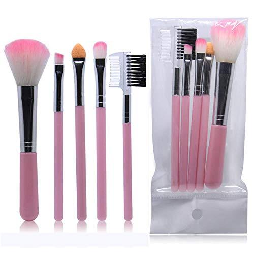 HPPL 32pcs professionelle Make-up Pinsel Set bilden Puderpinsel pinceaux maquillage Schönheit kosmetische Tools Kit Lidschatten Lippenpinsel Tasche (32pcs Make-up Pinsel Mit Tasche)