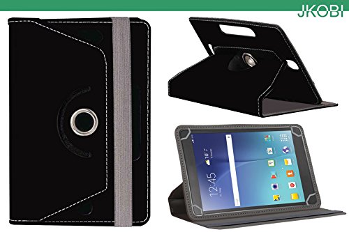 Jkobi 360* Rotating Front Back Tablet Book Flip Flap Case Cover Compatible For Samsung Galaxy Tab 3 T311 -Black  available at amazon for Rs.225