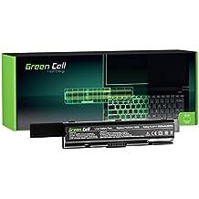 Green Cell® Extended Serie PA3534U-1BRS Batería para Toshiba Satellite A200 A300 A500 L200 L300 L500 Ordenador (12 Celdas 8800mAh 10.8V Negro)