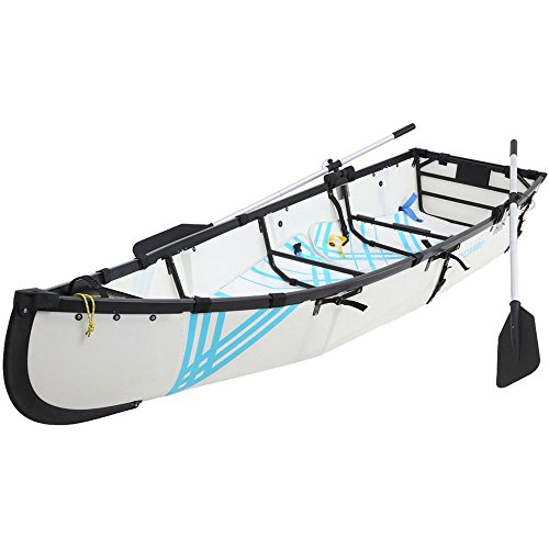 mycanoe ligero Origami plegable plegable portátil barco 9,5m pesca de remo