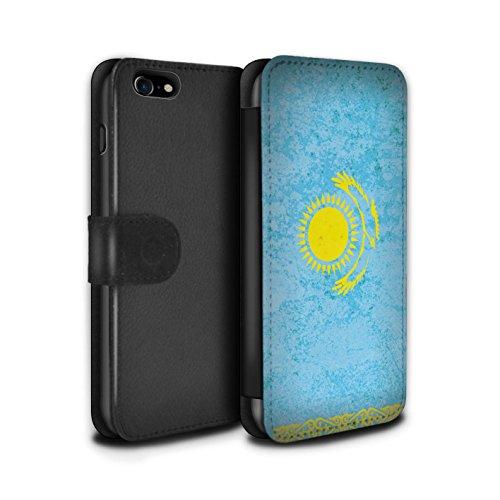 Stuff4 Coque/Etui/Housse Cuir PU Case/Cover pour Apple iPhone 5C / Arménie/Arménien Design / Drapeau Asie Collection Kazakhstan/Kazakhstani