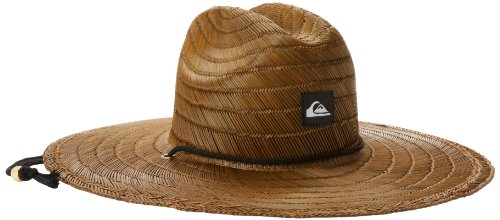 Quiksilver Herren Pierside Straw Hat Sunhat, Dunkelbraun, X-Large (Bushmaster)