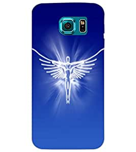 SAMSUNG GALAXY S6 ANGEL Back Cover by PRINTSWAG