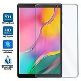 REY - Protector de Pantalla para Samsung Galaxy Tab A 2019 10.1', Cristal Vidrio Templado Premium,...