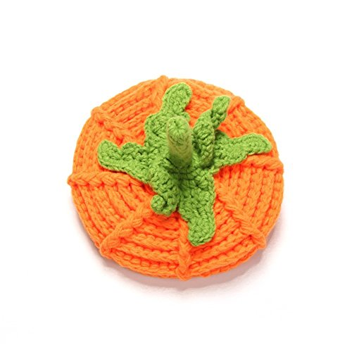 PRIMI Kürbis Hat Baby Mädchen Boy Foto Prop Outfits Knit Crochet orange