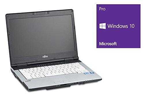 Fujitsu Lifebook S751 Notebook | 14 Zoll Display | Intel Core i3-2348M @ 2,3 GHz | 4GB DDR3 RAM | 500GB HDD | DVD-Brenner | Windows 10 Pro (Zertifiziert und Generalüberholt)