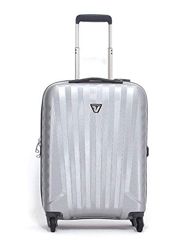 Roncato trolley medio, Uno Zip 5082-25, 4r policarbonato, grigio CNOR