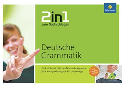 Preisvergleich Produktbild 2in1 zum Nachschlagen / Sekundarstufe: 2in1 zum Nachschlagen: Deutsche Grammatik