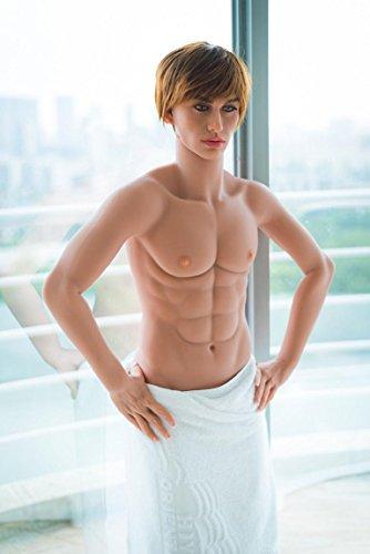 Realistische männliche Sexpuppe mit den richtigen Öffnungen für Ihren Spaß 163cm - 2