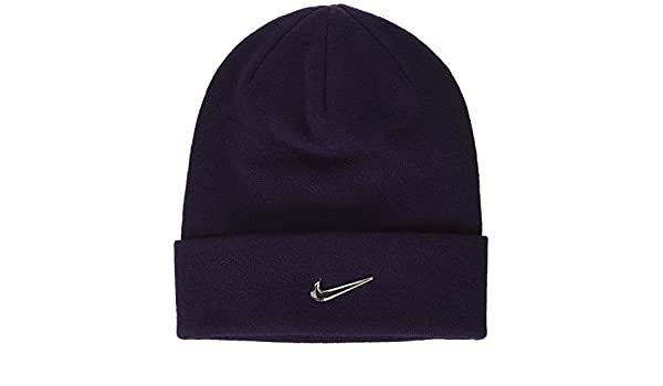Cappello Colore Beanie Swoosh Da Y Metal Nk Bambini Nike Viola wqROAxfCW