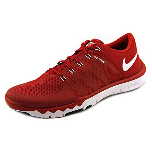 Free Trainer 5.0 V6 Mesh Croix-formateurs Chaussures Gym Red/White/Black