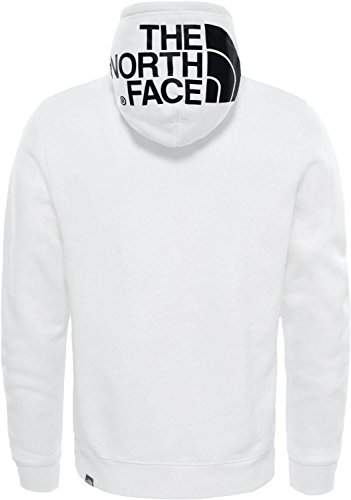 THE NORTH FACE Seasonal Drew Peak Sweat-Shirt à Capuche Homme, WHT/TNF Blk, FR (Taille Fabricant : XS)