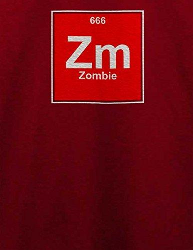 Zombie Elements T-Shirt Bordeaux