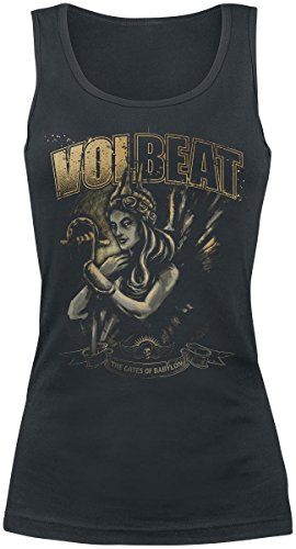 Volbeat - Canotta -  donna Black Medium