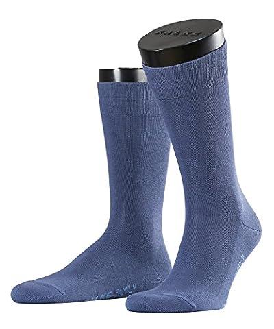 FALKE Herren Socken Family, Blau (Tuareg 6815), 43/46