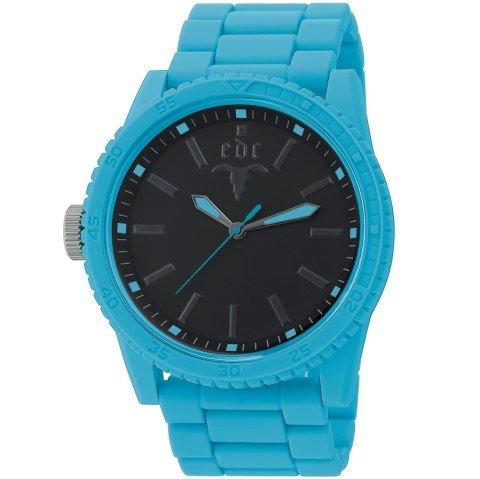 edc by Esprit 0 - Reloj de cuarzo unisex, con correa de plástico, color azul