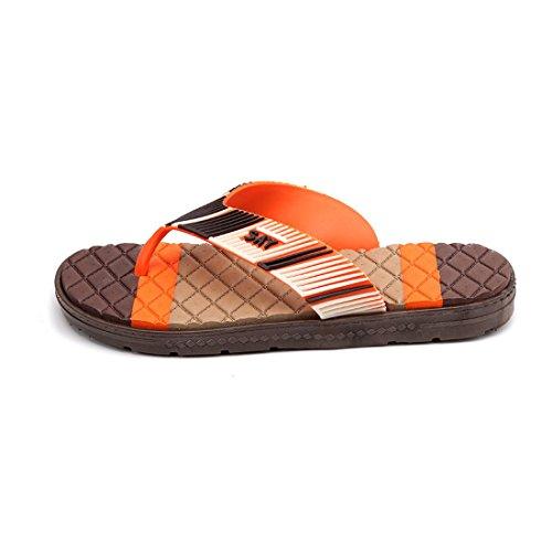 Men's Durable Breathable Outdoor Flip Flops Slippers brown