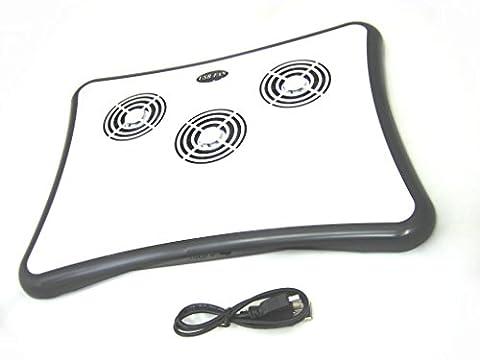 AAB Cooling NC8Refroidisseur de Notebook Cooler Pad Support ordinateur portable Ventilateur refroidissement