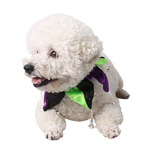 STRUGGGE Haustier-Halloween-Zubehör für Hunde und Katzen, verstellbar