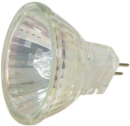 Transmedia Halogen Spiegellampe 36 V / 10 W, GU4, 12, dimmbar, Karton, Durchmesser 35 x 36 mm, warmweiß, 2700 K LH6-10L