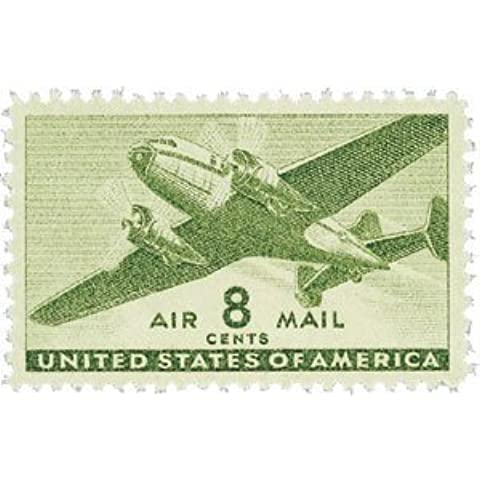 #C26 - 1944 8c Rotary Press Air Mail Postage Stamps Plate Block by USPS