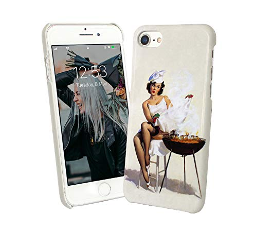 aa1ea69e47e Vintage Pin Up Barbecue Grill_003970 Protective Case Cover Hard Plastic  iPhone XS MAX (2018)