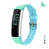YoYoFit Slim HR Kids Fitness Tracker Watch with Heart Rate Monitor, Kids Activity Tracker Health Exercise Watch with Pedometer Calorie Counter Sleep Monitor, for Women Men Kids
