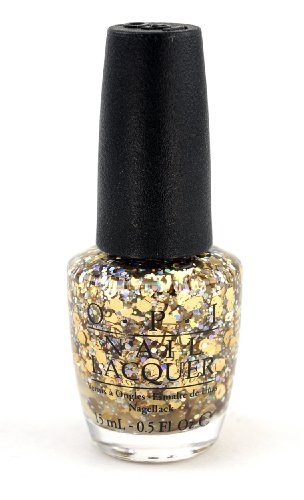 OPI Spotlight on Glitter Collection I Reached My Gold G38