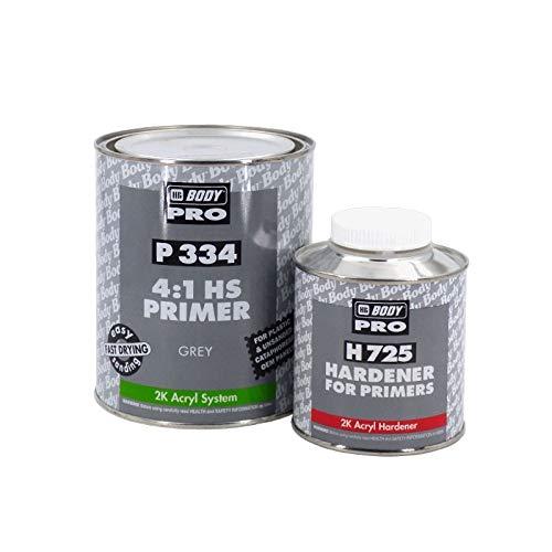 Aparejo HS P334 2K HBBody - 1,25 L (1 + 0,25), Blanco